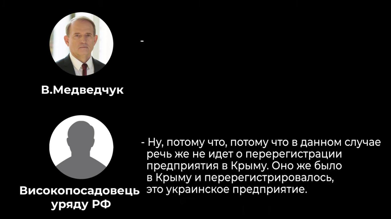 Российский чиновник говорил собеседнику, что с перерегистрацией возникли трудности
