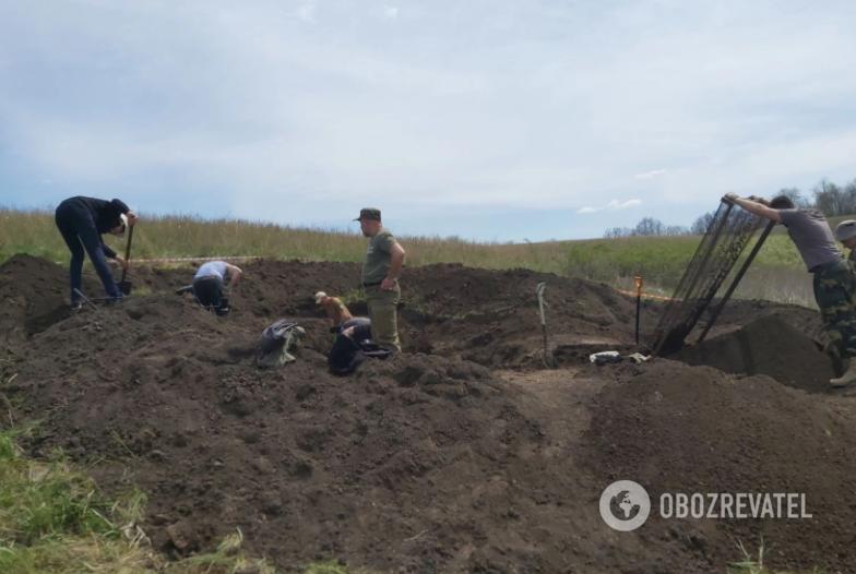 Под Днепром нашли останки самолета Второй мировой войны