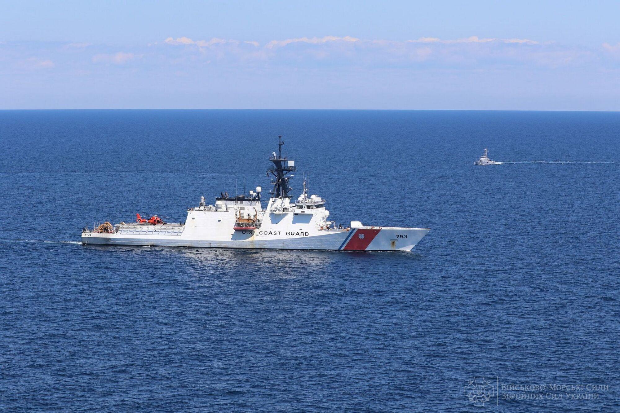 Моряки України та США тренувалися відбивати удари засобів повітряного нападу противника