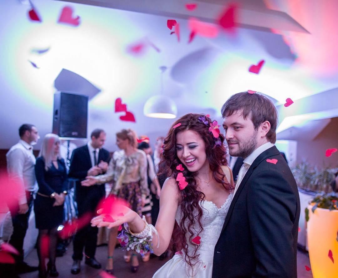 DZIDZIO і його дружина Ярослава на весіллі