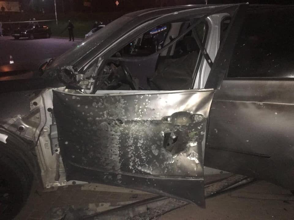 Правоохранители показали фото машины.