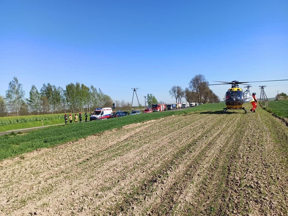 На місце ДТП з українцями відправляли гелікоптер швидкої допомоги