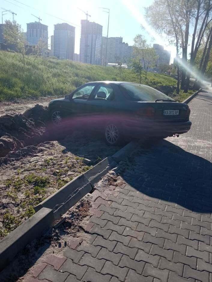 """""""Паркування"""" по-київськи"""