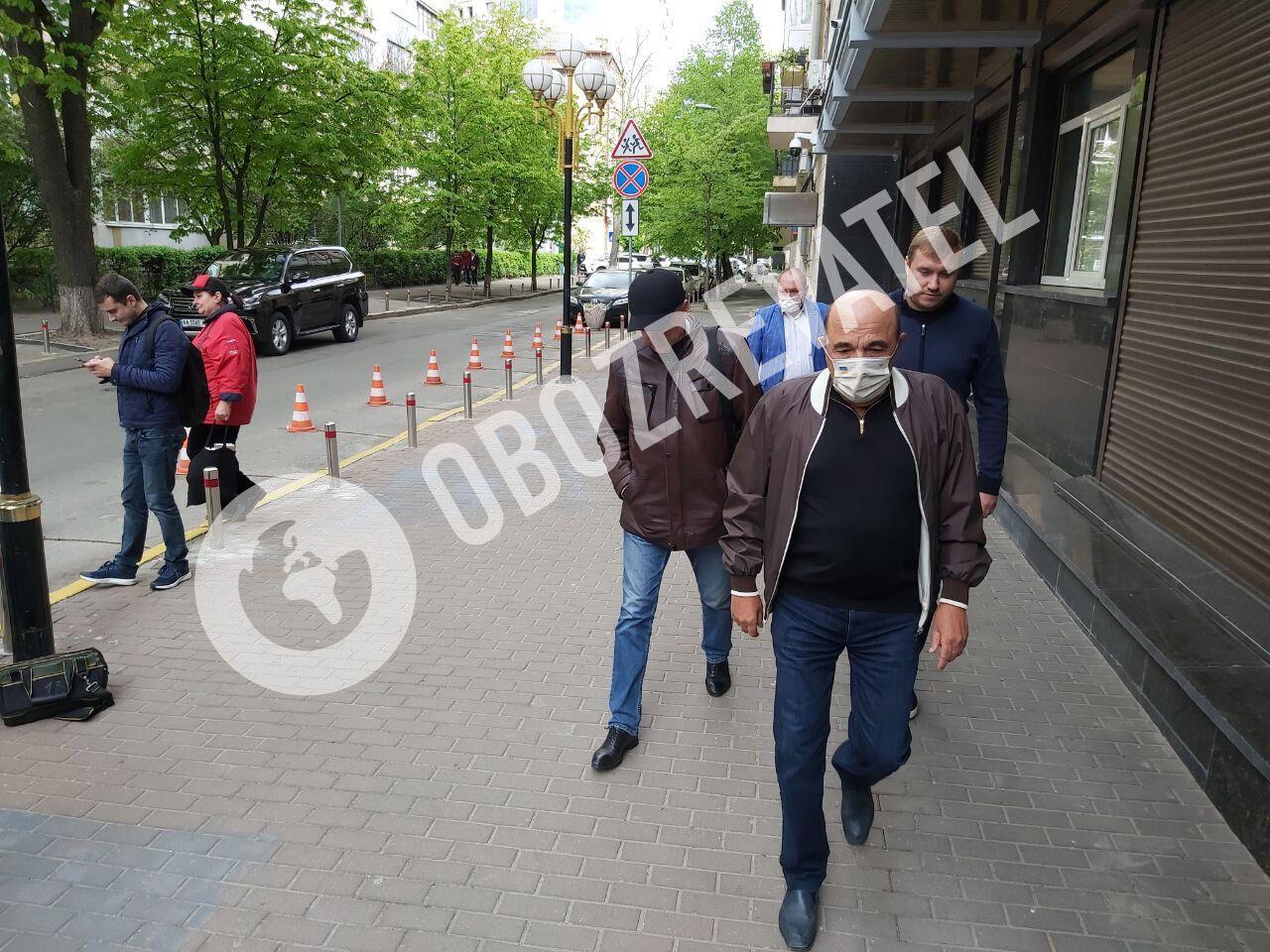 Рабинович прибыл к ОГП