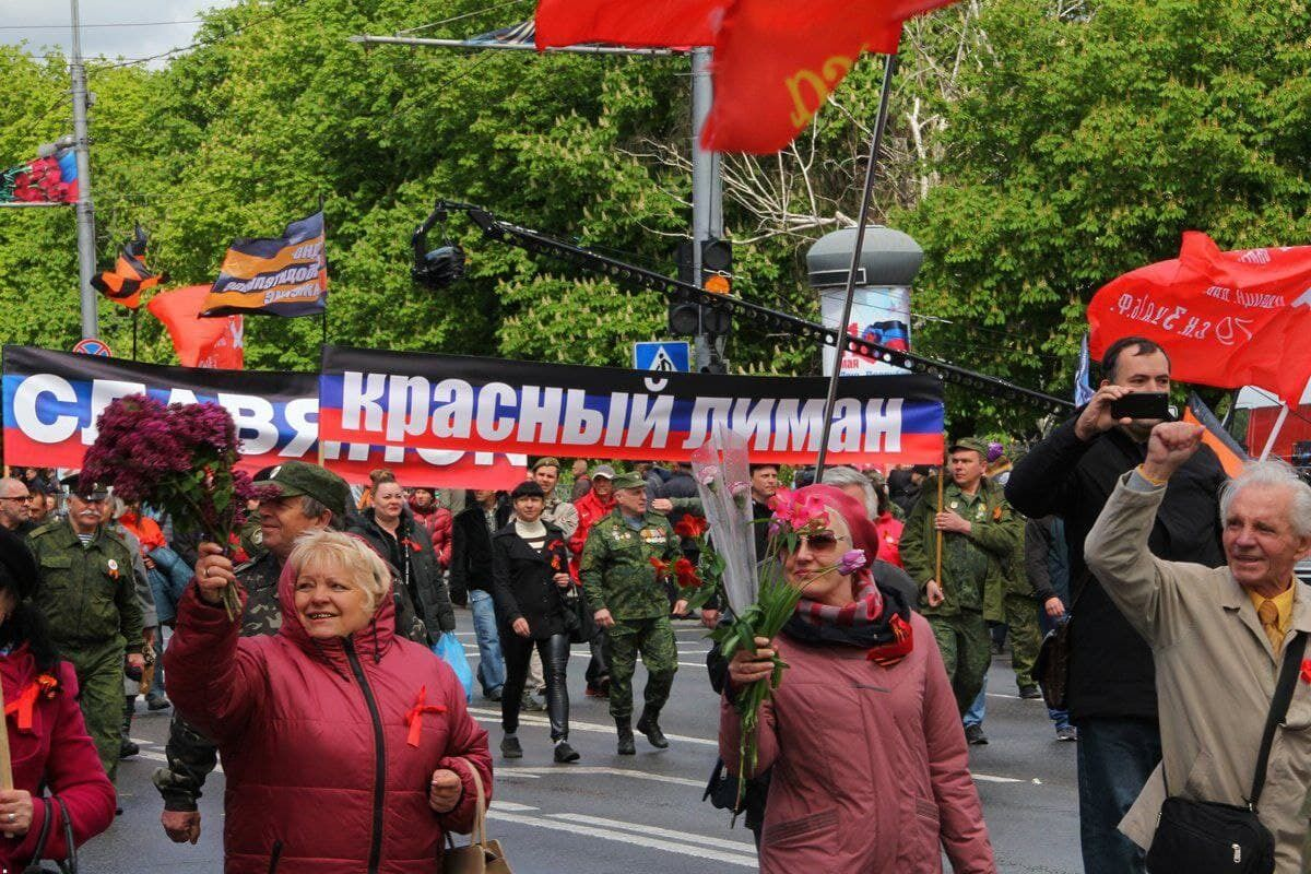 """В """"Л/ДНР"""" провели парады в честь 7-й годовщины """"референдума"""""""