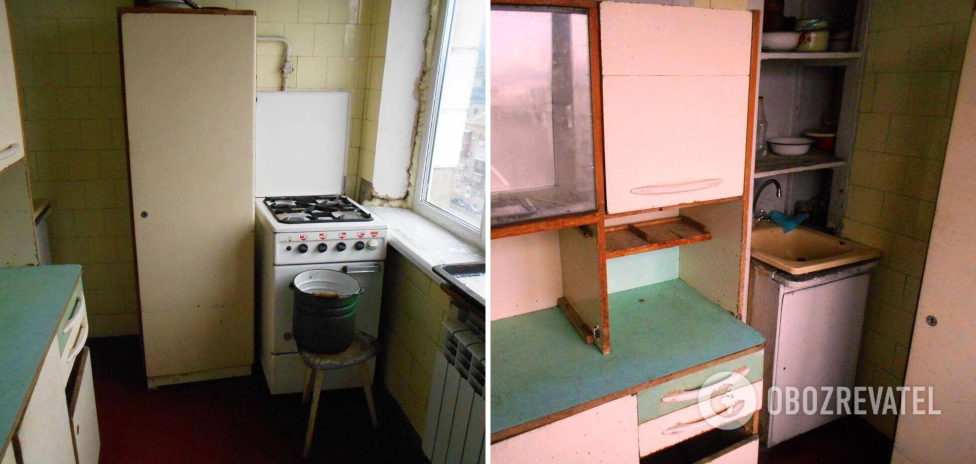 У кухні було дуже мало місця