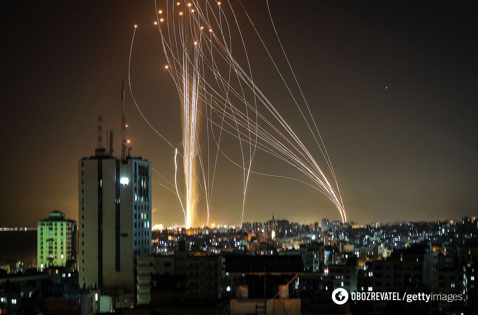 """""""Железный купол"""" защищает Израиль."""