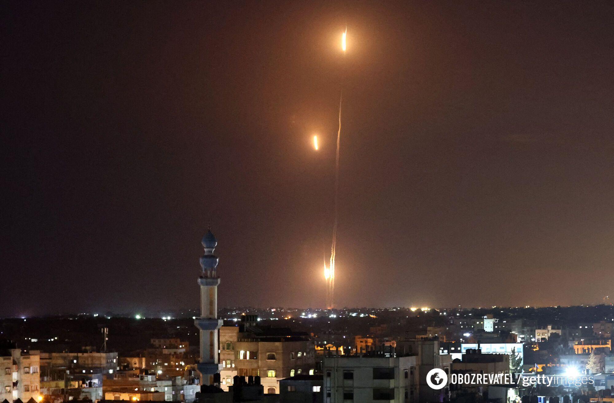 Палестинцы запустили более тысячи ракет.