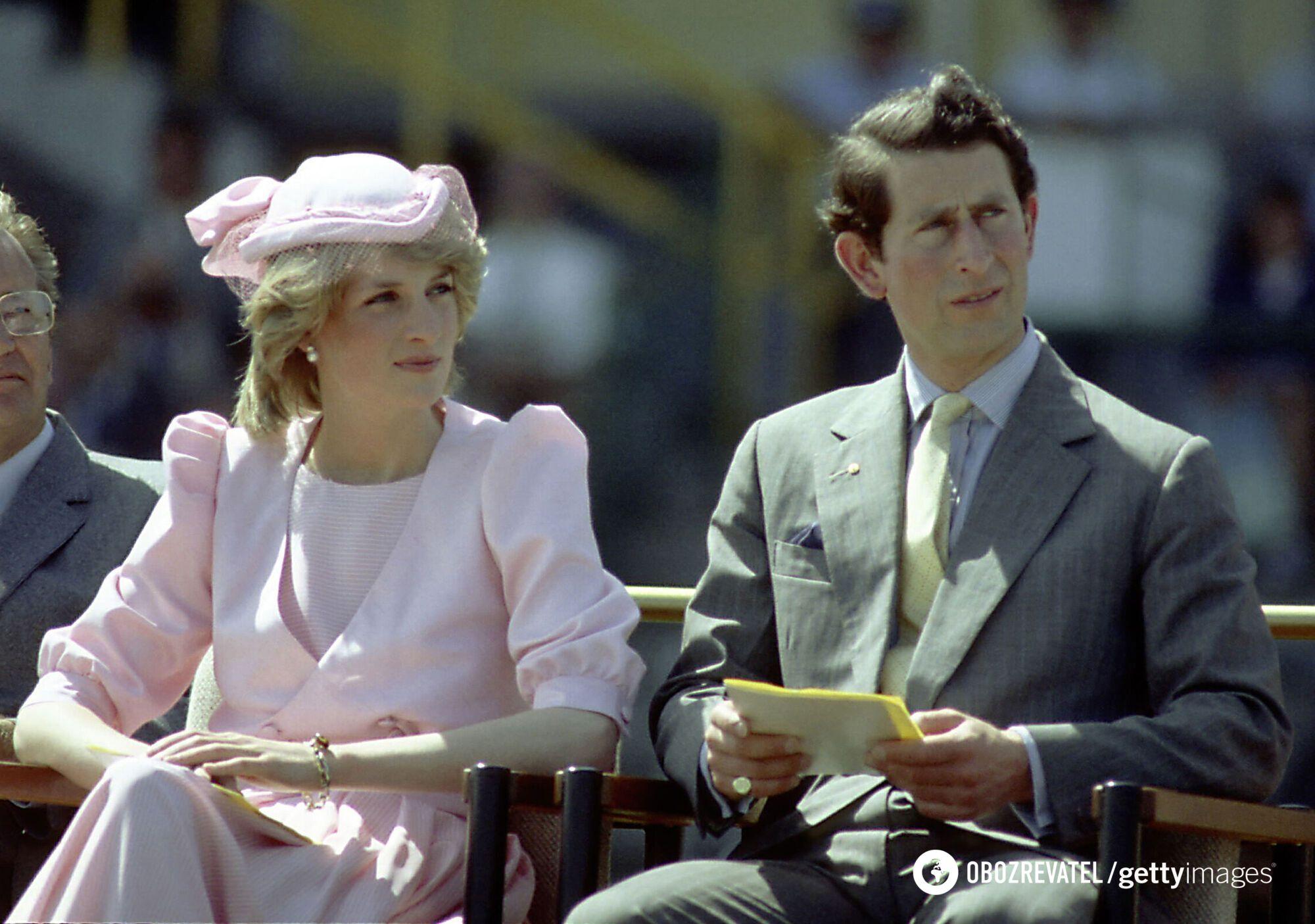 Принц Чарльз и принцесса Диана поженились в 1981 году