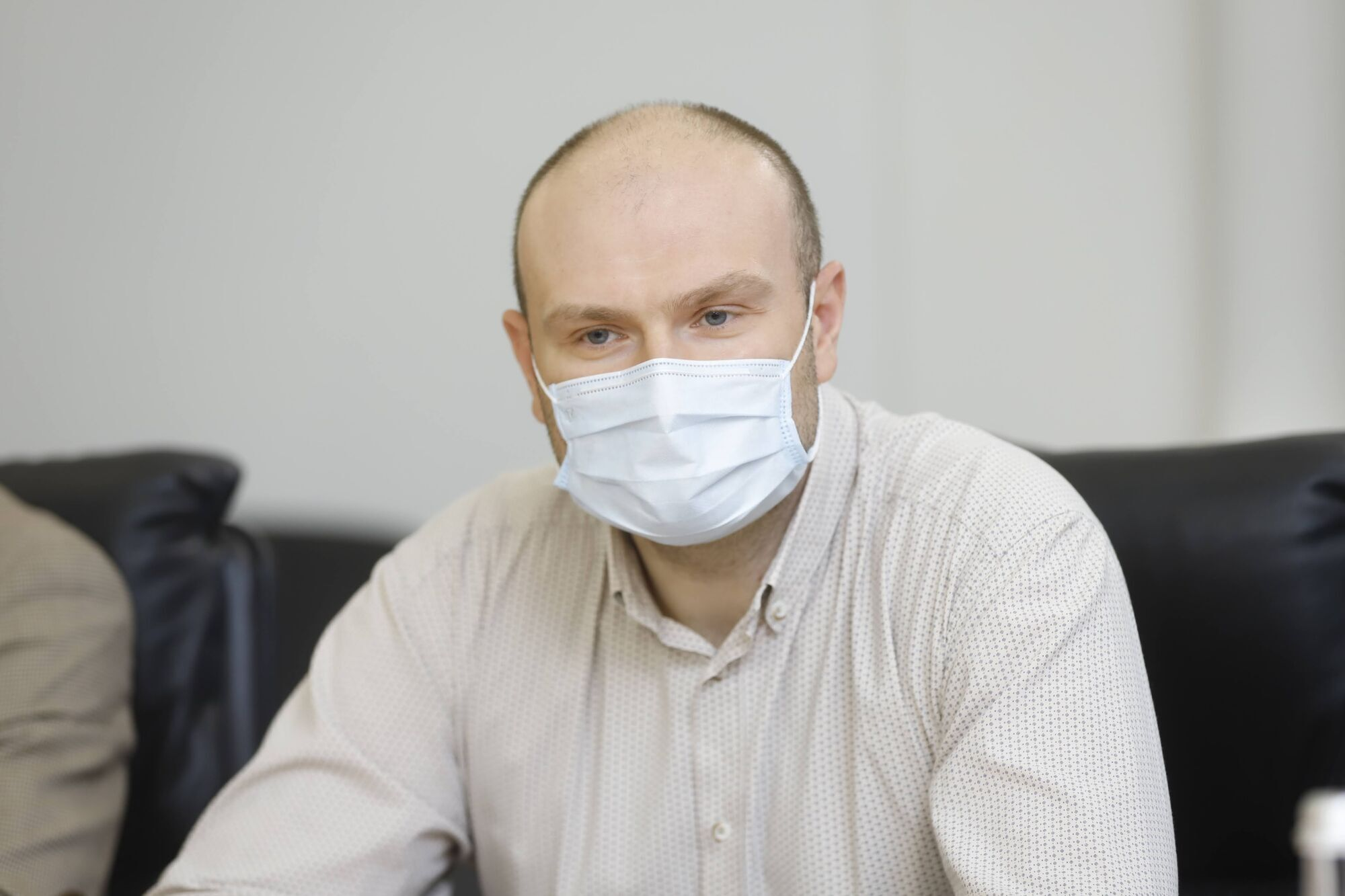 Представник спонсора Сергій Мальцев