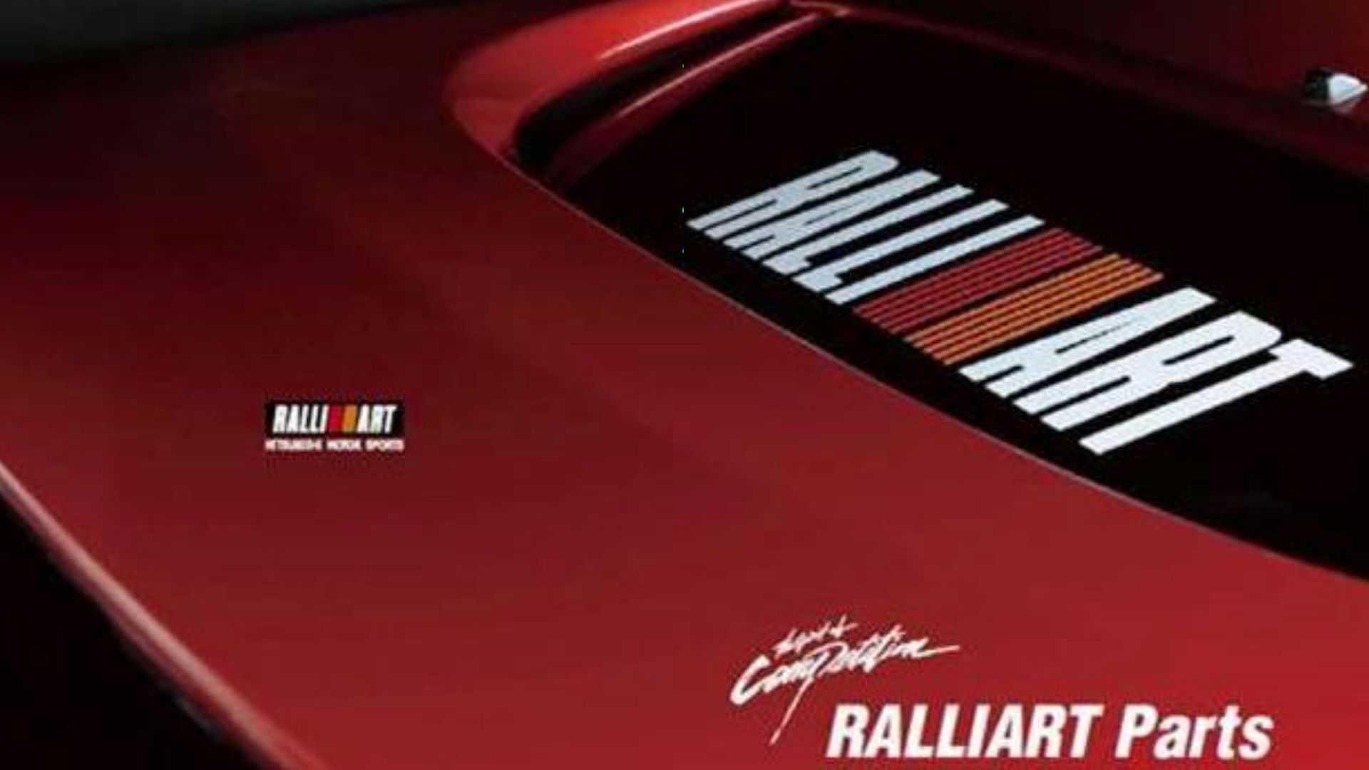Анонс Mitsubishi про повернення Ralliart