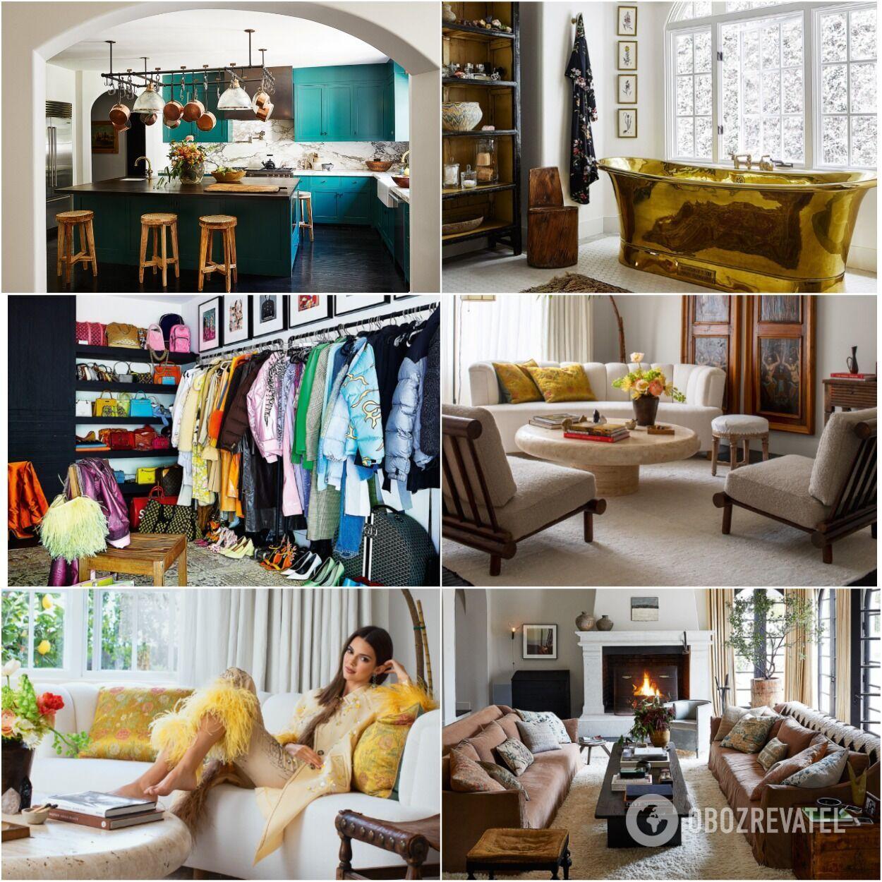 Многие элементы декора и даже мебели были сделаны на заказ по усмотрению самой Кендалл.