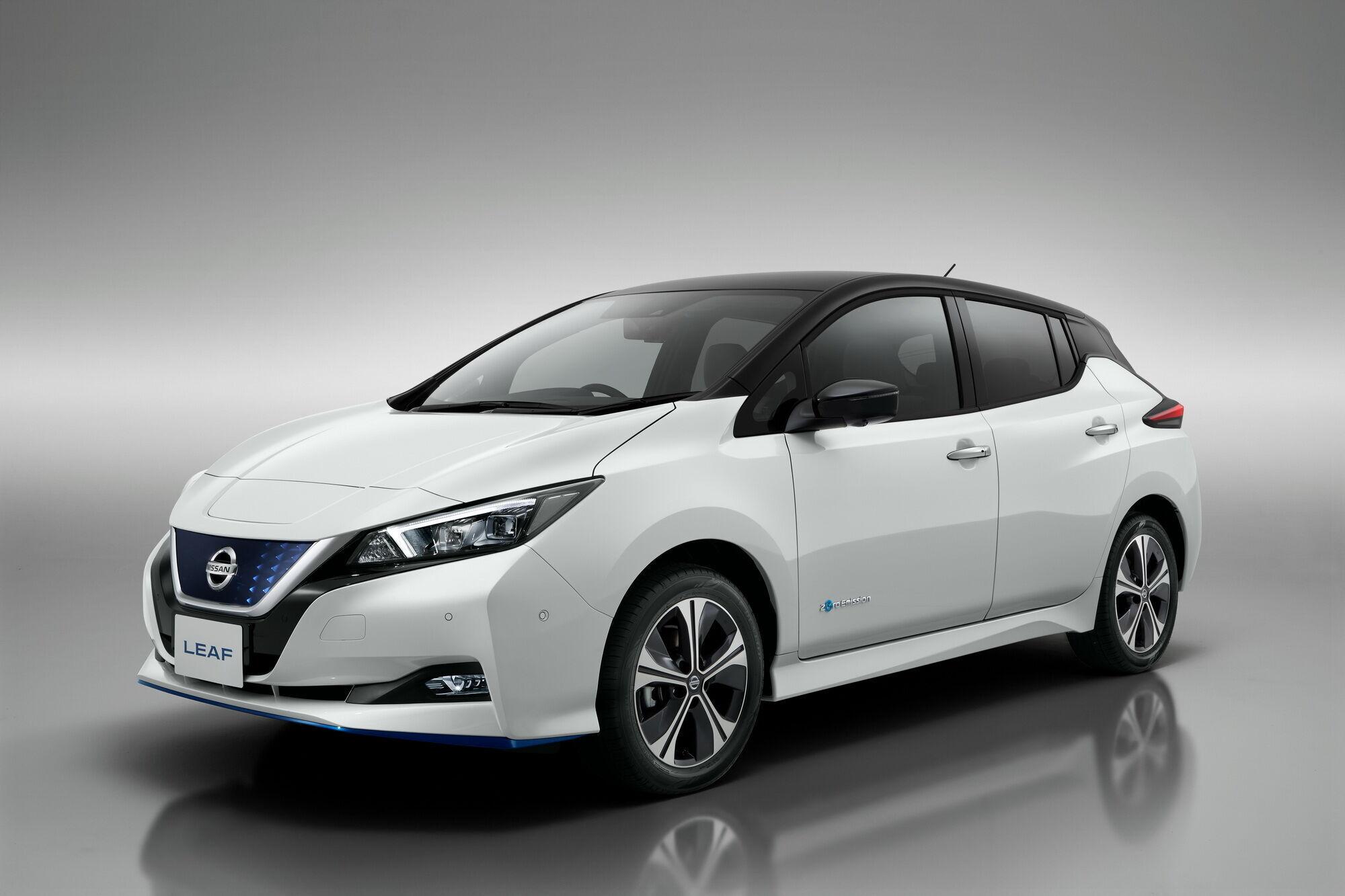 Запас ходу Nissan Leaf становить 389 км в міському режимі та 270 км – в змішаному