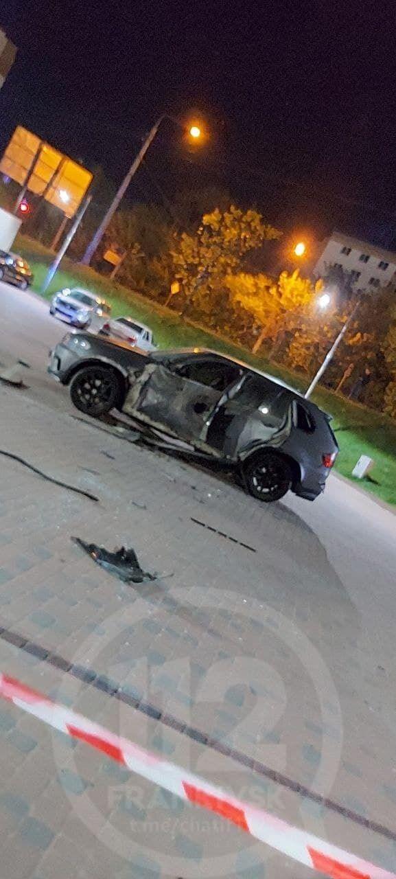 В Ивано-Франковске обстреляли автомобиль.