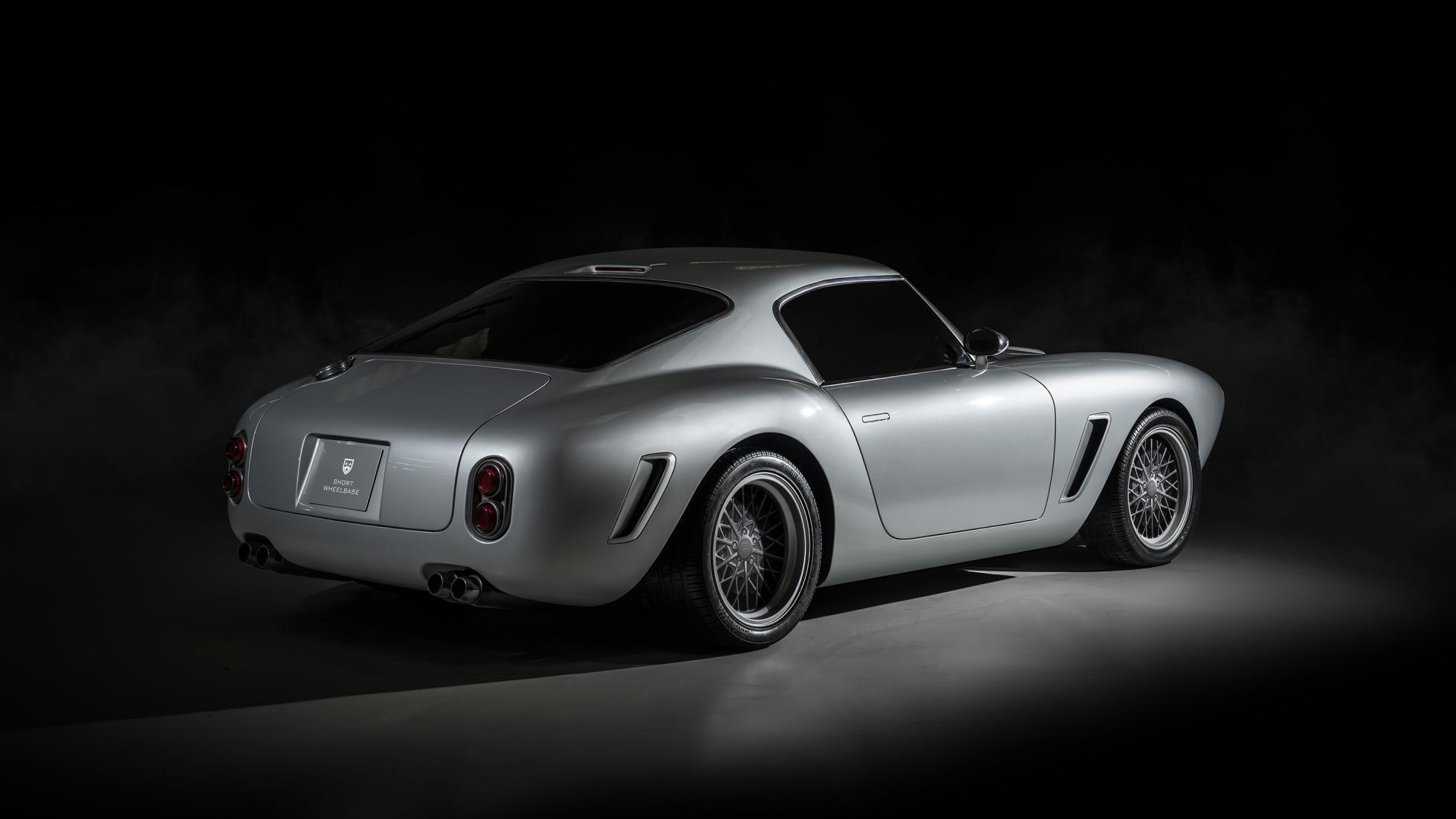 RML Short Wheelbase будет немного длиннее, шире и тяжелее оригинального Ferrari 250 GT SWB