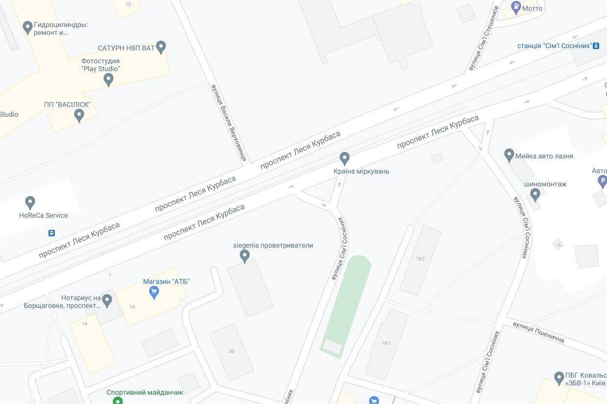 Авария произошла на пересечении улицы Семьи Сосниных и проспекта Любомира Гузара.