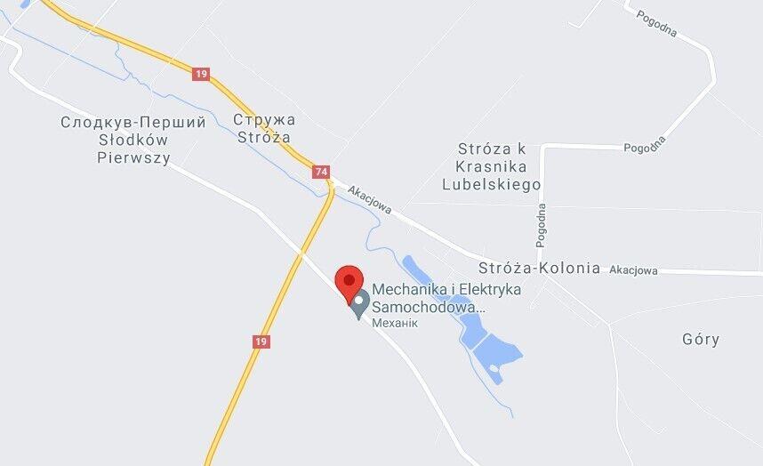 Аварія трапилася біля села Слодкув-Другий
