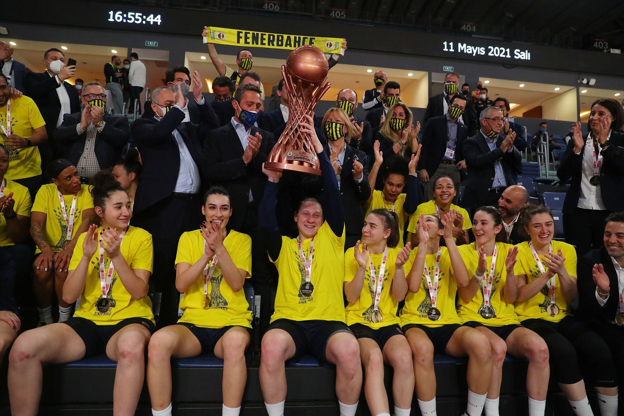 Алина Ягупова с трофеем