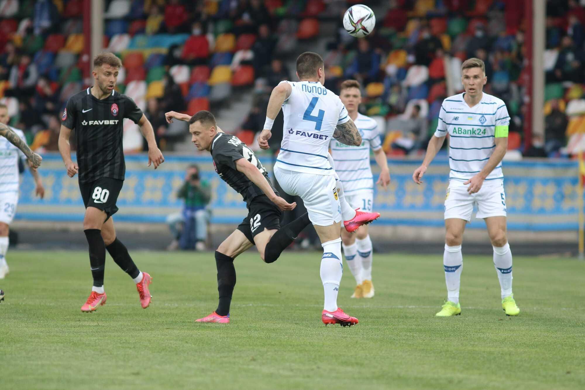 Денис Попов часто долучався до атак