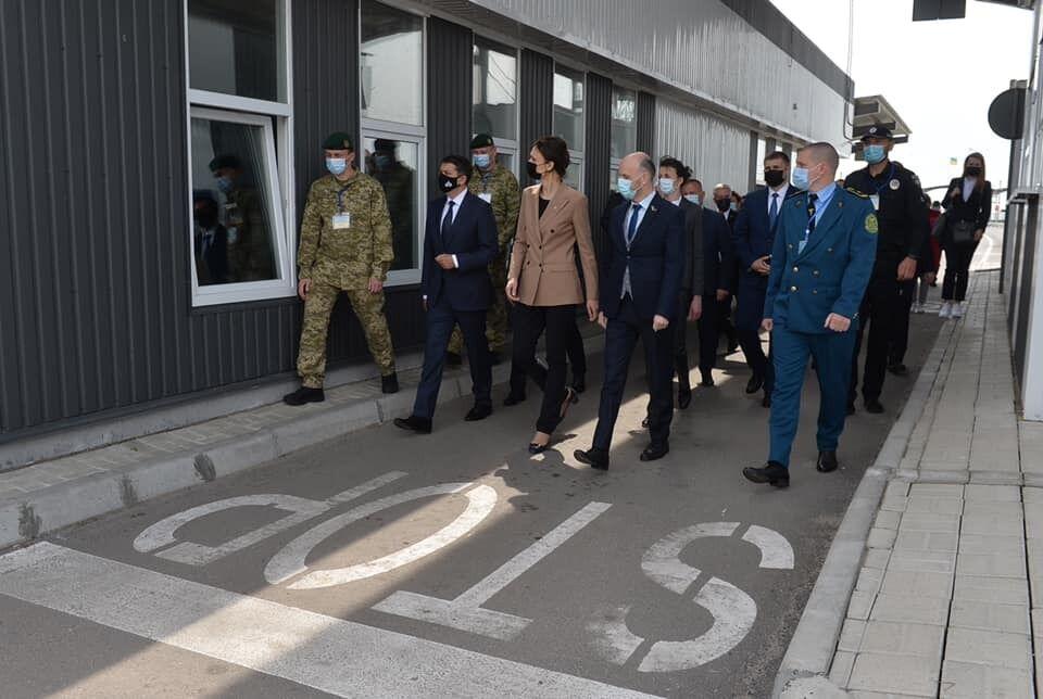 Візит Разумкова на Херсонщину.