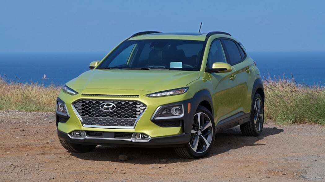 Найкращим субкомпактним SUV названо Hyundai Kona 2018-2020