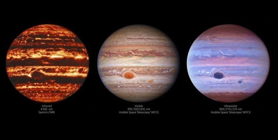 Астрономы получили уникальные фото Юпитера