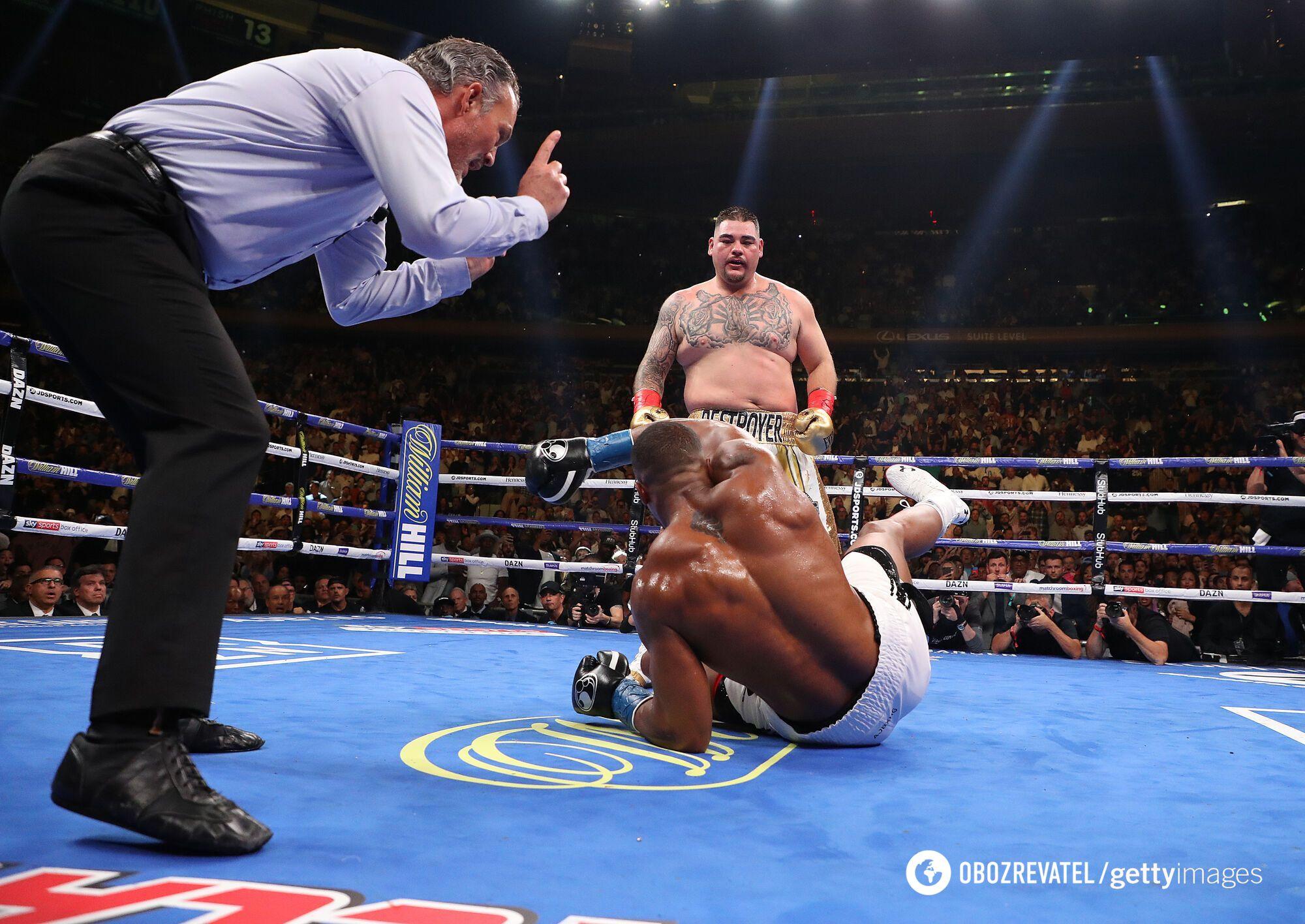 Руис нокаутировал Джошуа в первом бою