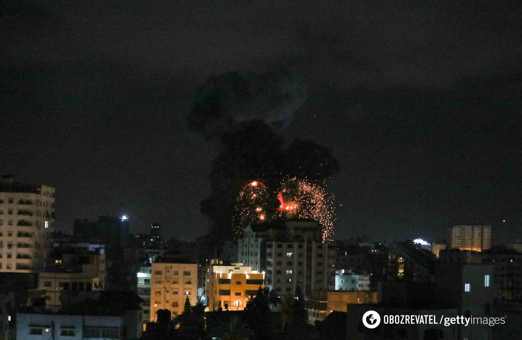Конфликт Израиля и Палестины.
