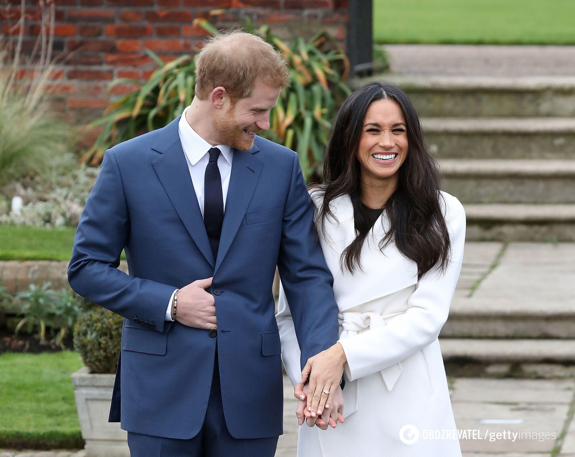 Принц Гаррі і Меган Маркл на початку стосунків
