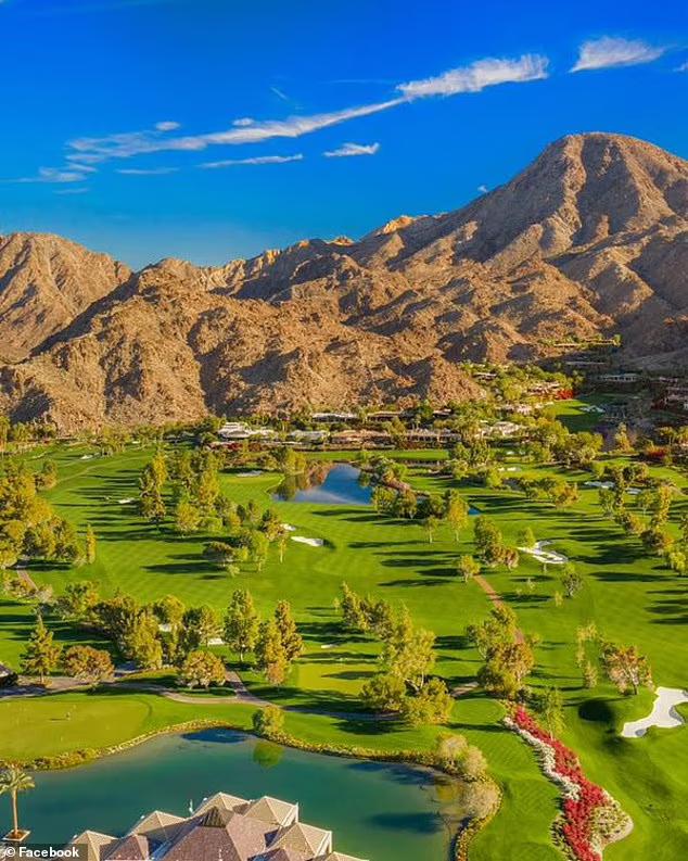 Закрытый гольф-клуб, где сейчас находится Гейтс