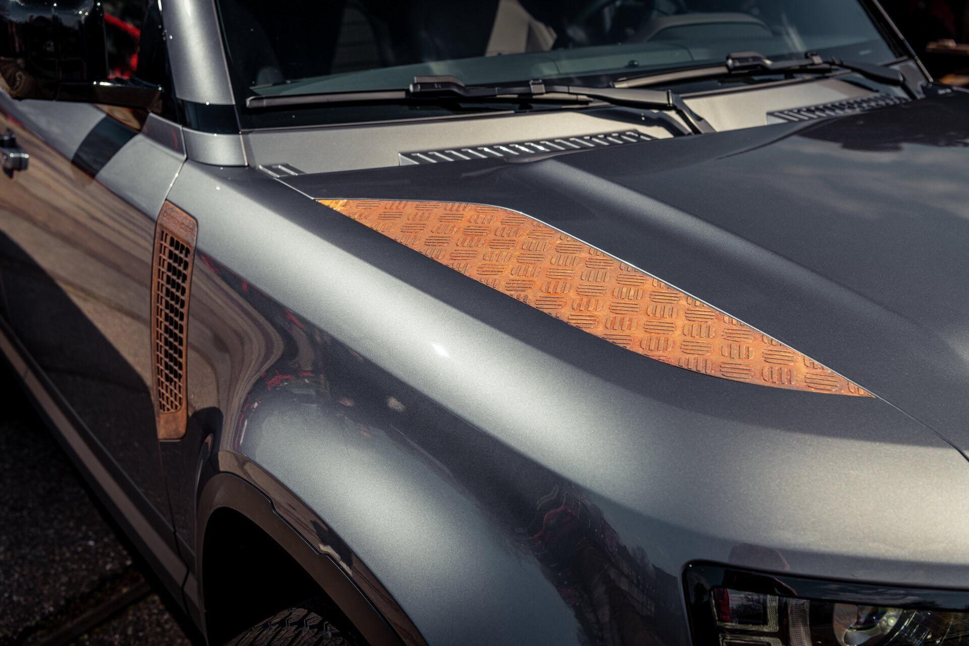 Ржавые дополнения Land Rover Defender