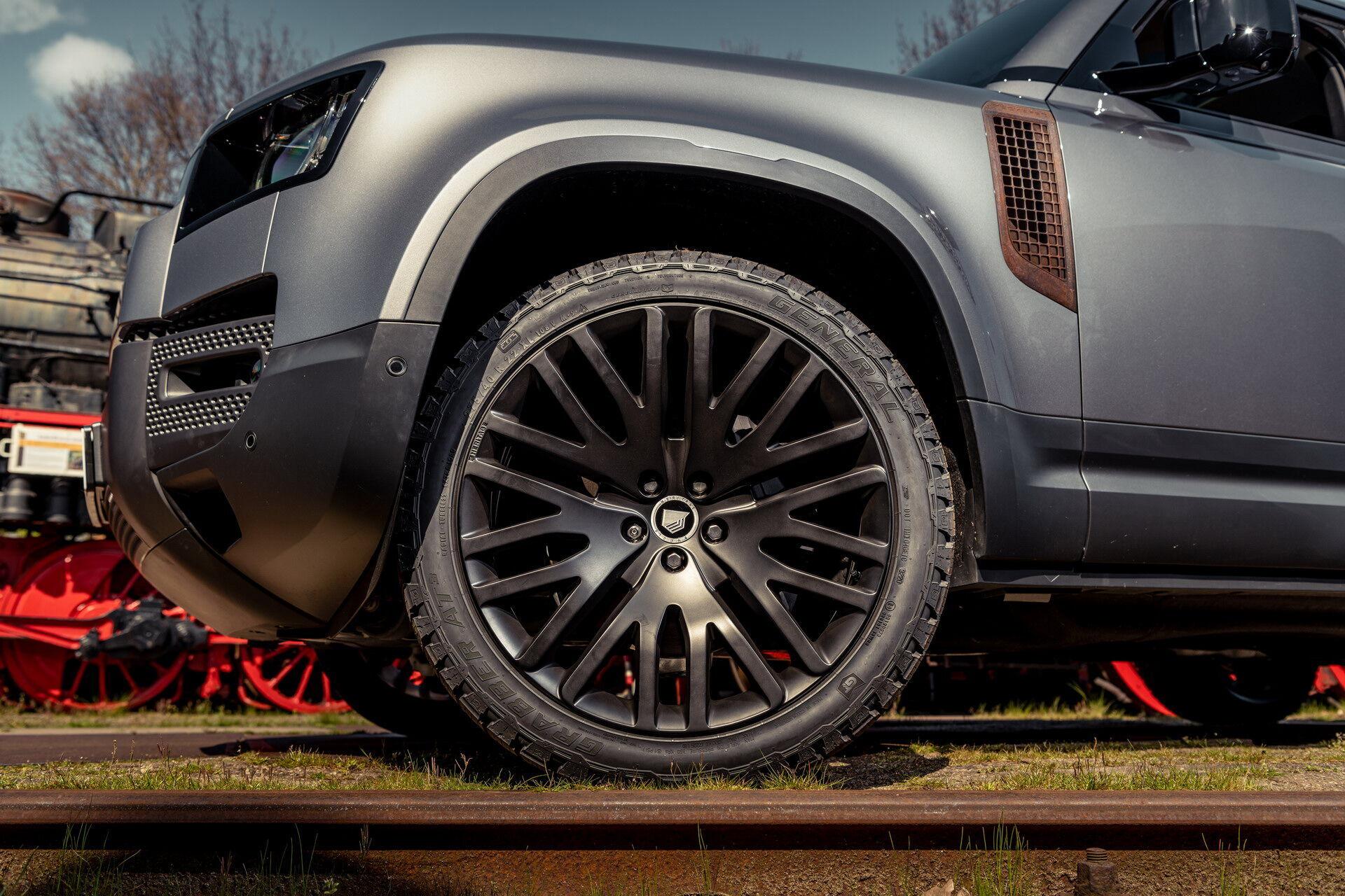 Новые 22-дюймовые легкосплавные колесные диски Black Crow