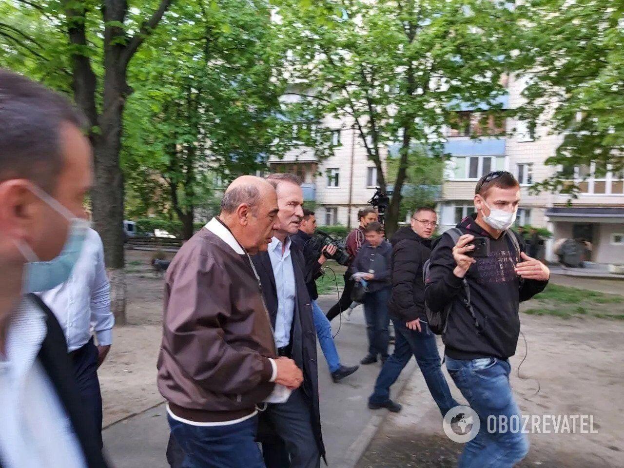 12 травня Медведчук давав свідчення в ОГП