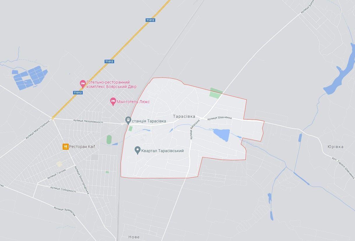 Событие произошло в Киевской области.