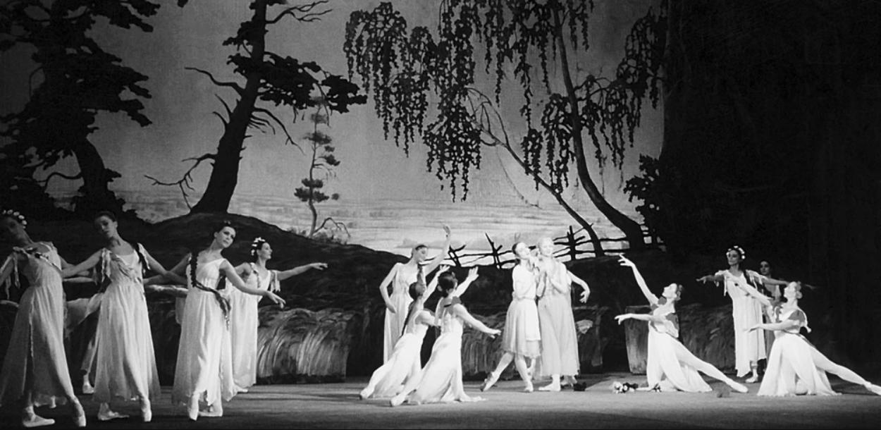 """Сцена из балета """"Лесная песня"""""""