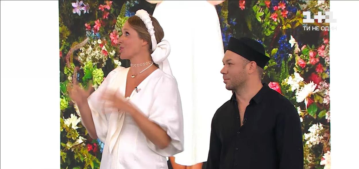 Катя Осадчая и Андре Тан