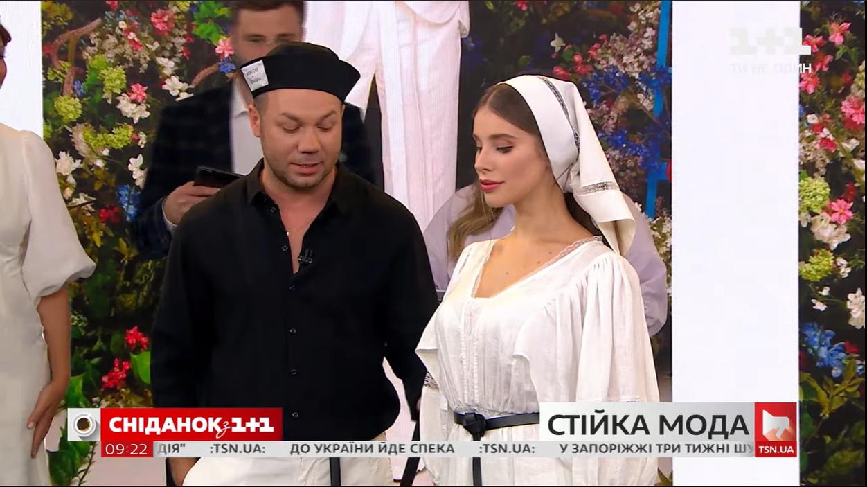 Платье из коллекции Андре Тана и Кати Осадчей