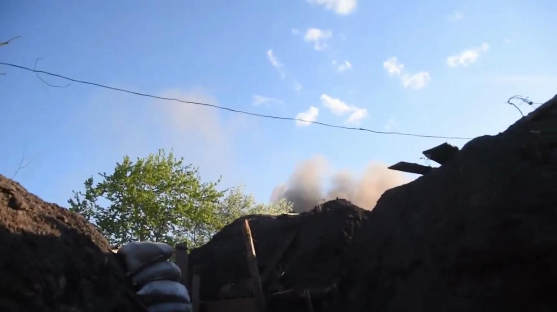 Противник открыл огонь по ВСУ