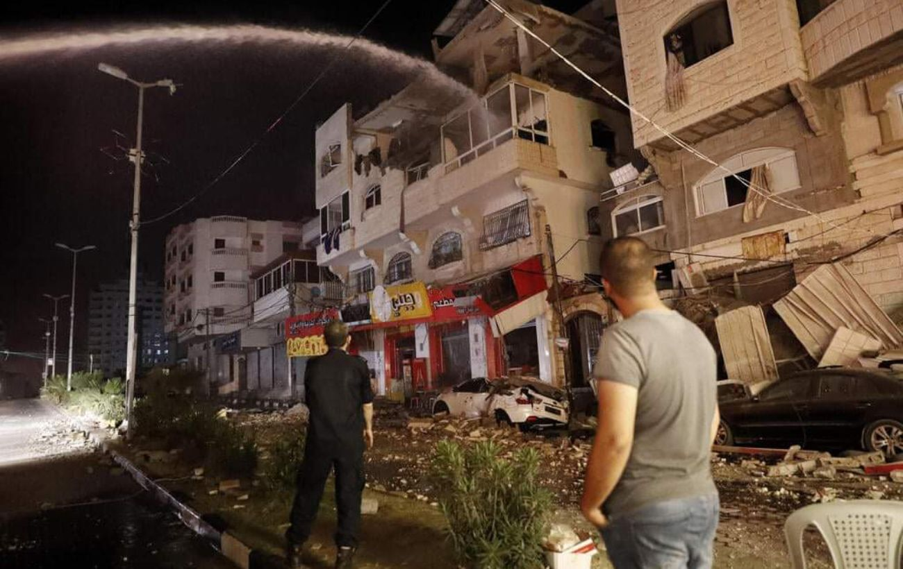 Израиль обстреливают с территории сектора Газы