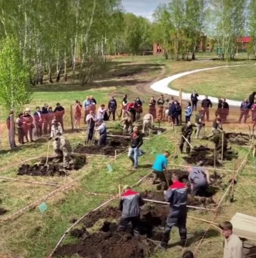 Чемпіонат з копання могил у Новосибірську