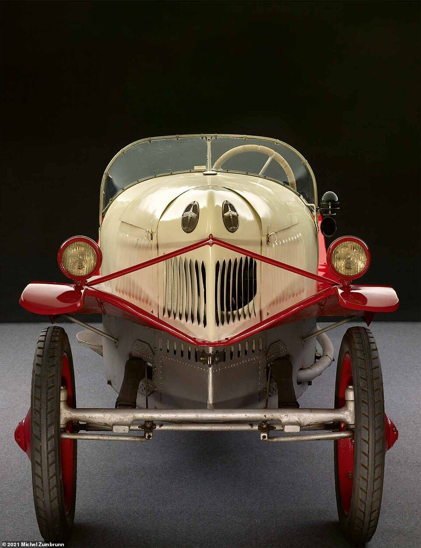 Grade-Wagen, розроблений авіаконструктором Гансом Граде
