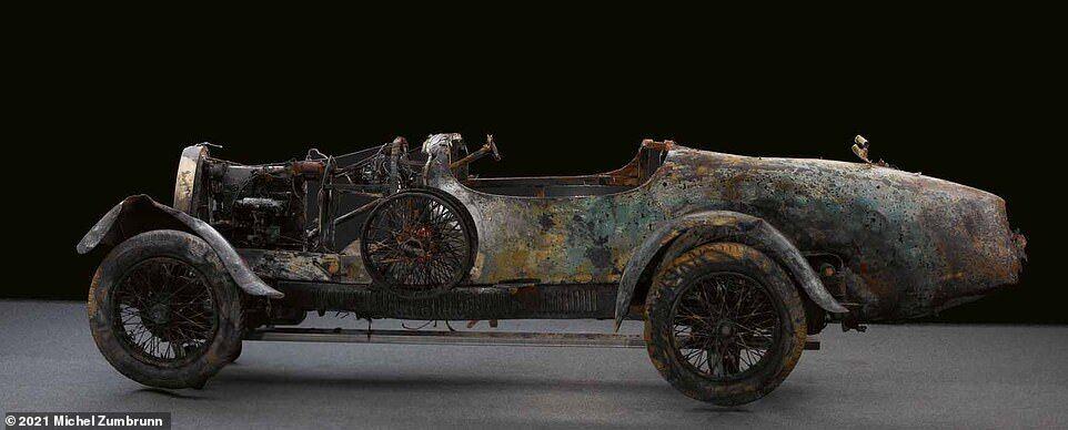 Bugatti T22 Brescia, який 75 років був на дні озера