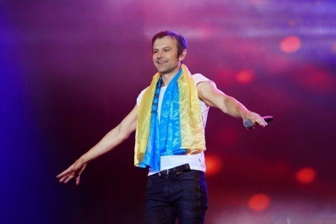 Украинский музыкант Святослав Вакарчук