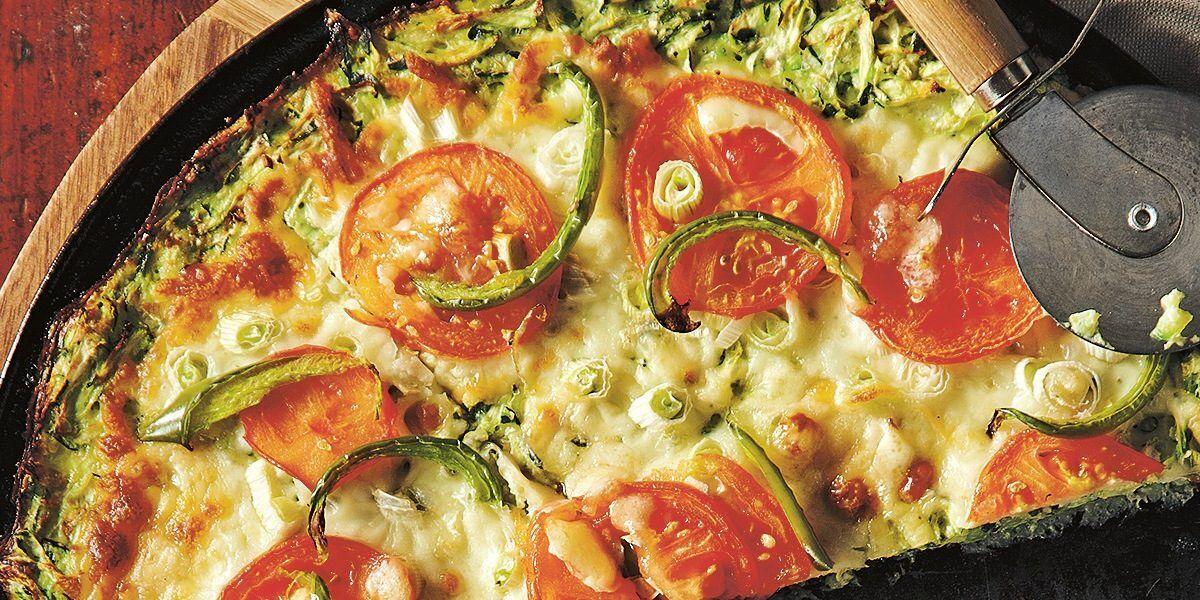 Кабачкова піца з куркою