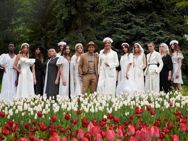 Андре Тан і Катя Осадча та їхні моделі