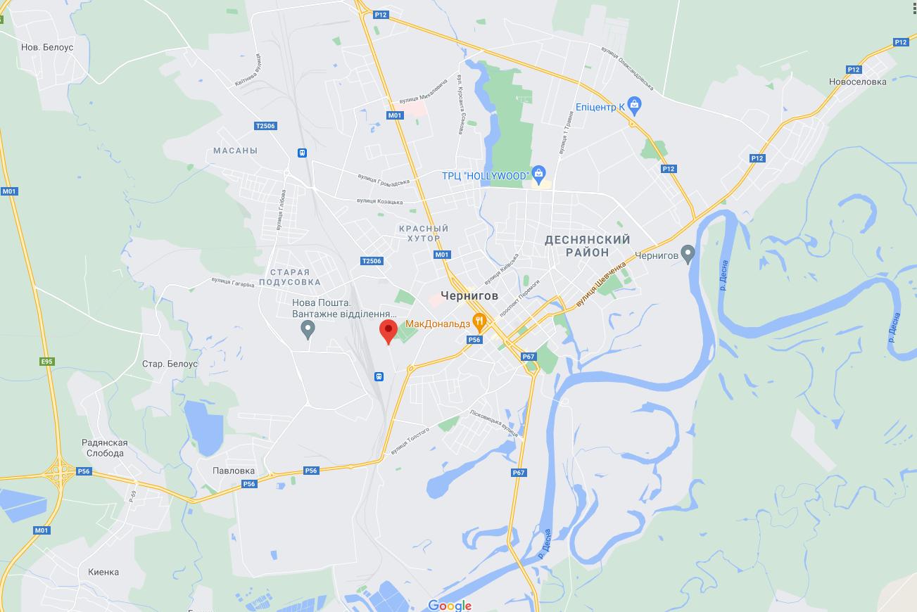 Инцидент произошел на улице Жабинского.