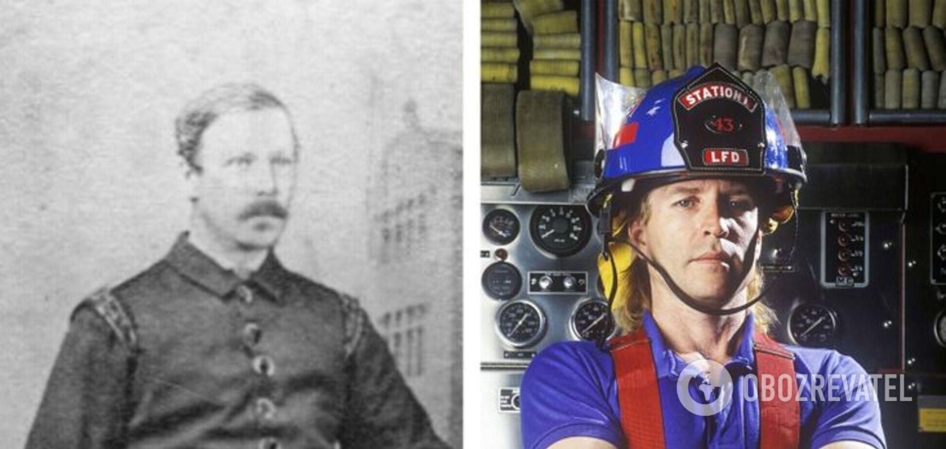 Пожарный 200 лет назад отличается от современного.