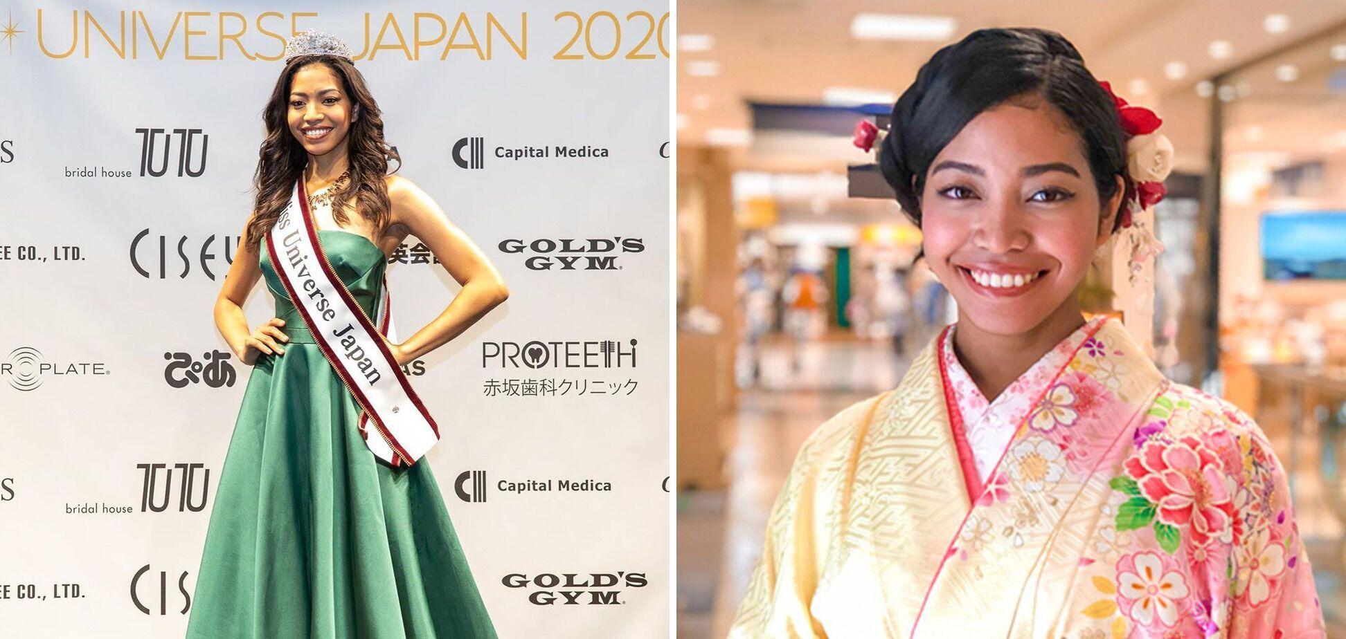 Аиша Точиги победила в конкурсе красоты в Японии