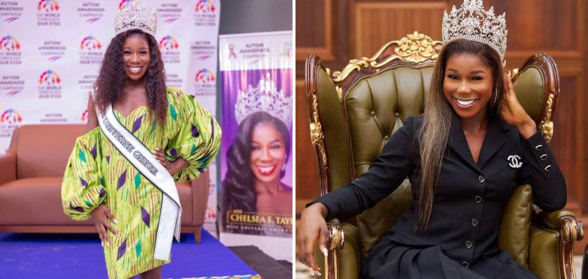 Челси Тайуи выиграла в конкурсе красоты в республике Гана.