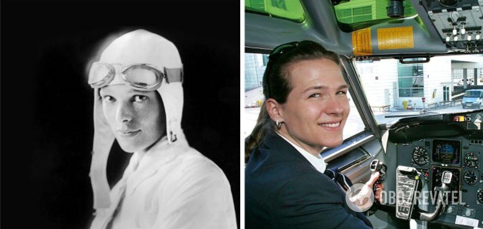 Пилоты 100 лет назад носили специальные головные уборы и очки